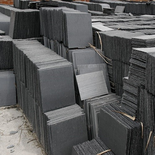 Natural Grey Slate Stone Tiles for Roofing/Wall