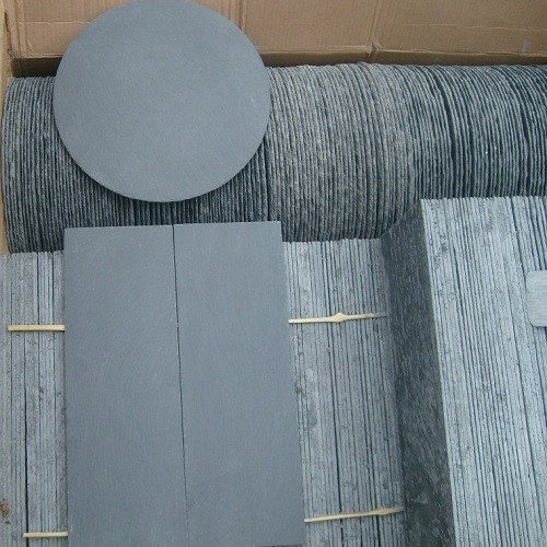 Split Natural Grey Slate Stone Tiles