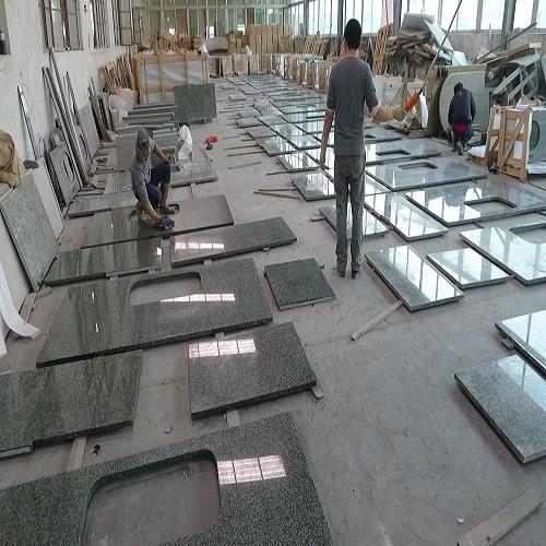 Natural Stone Jiangxi Green Granite Countertops