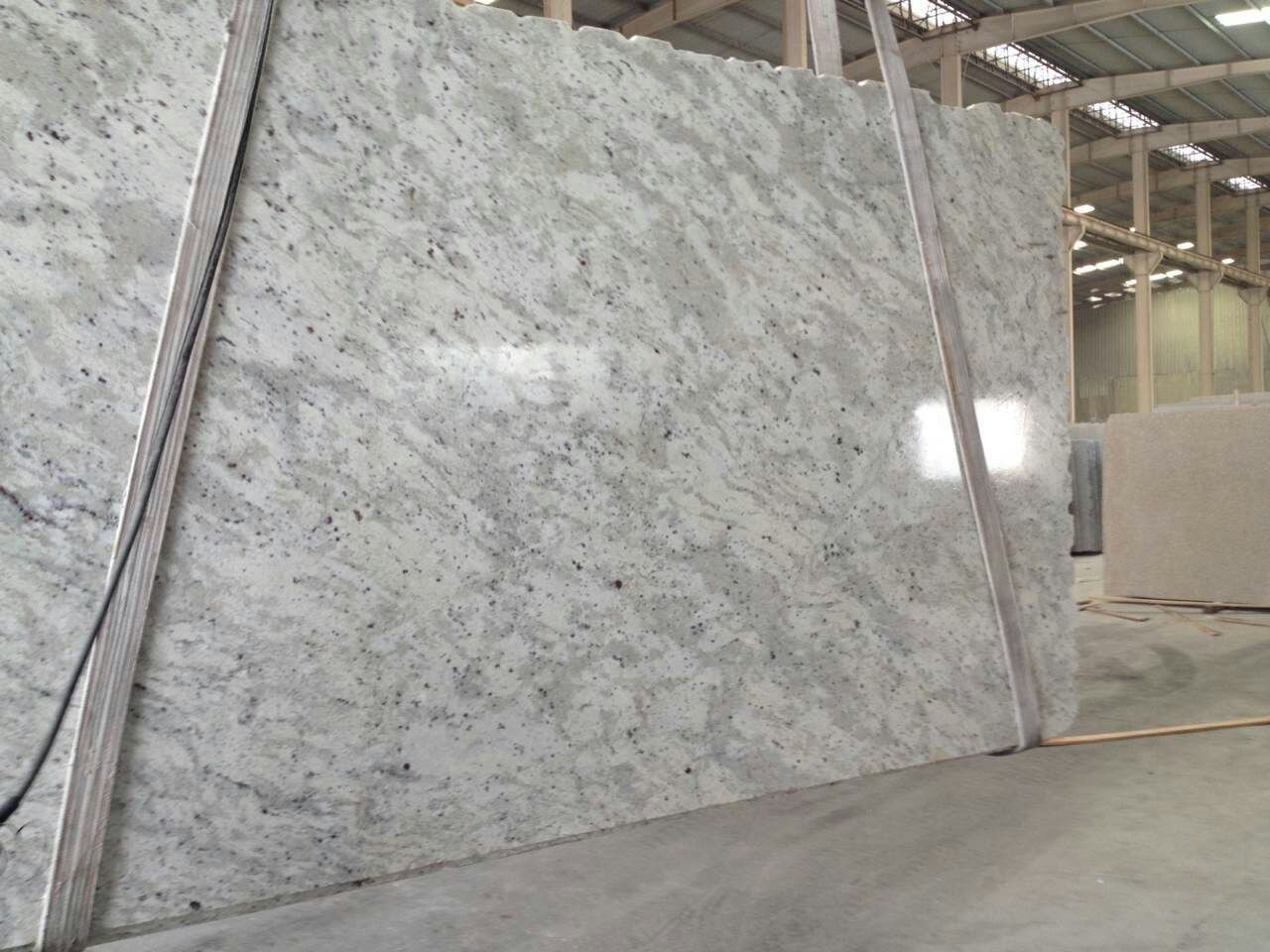 Andromeda White Granite Wall Cladding for Outdoors