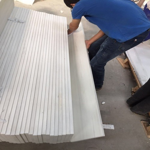 Natural Star White Marble Stone Engineering Panels