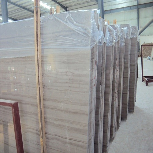 Athens Grey Wooden Marble for Tiles and Slabs