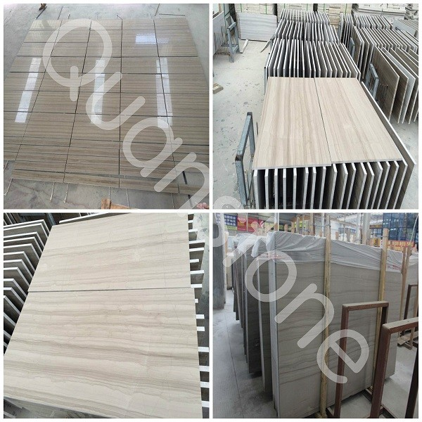 Athens Grey Wooden Vein Marble Panels