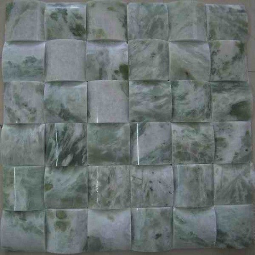 Green Onyx Stone Marble Mosaic Tile for Wall Decor
