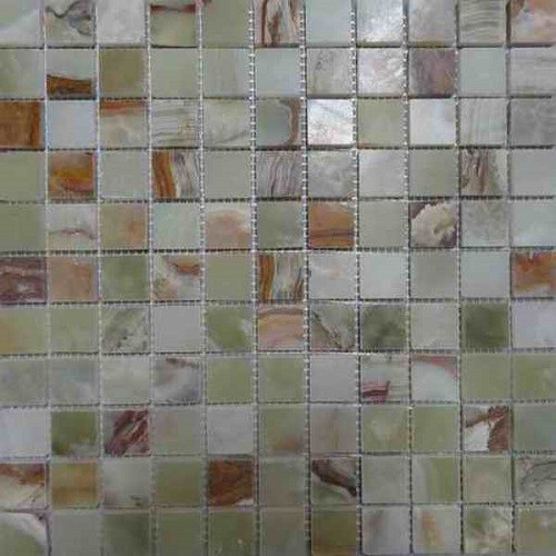 Mixcolor Onyx Mosaic Tile for Wall and Floor
