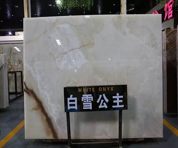 Transucent Natural Stone Onyx Slab for Background
