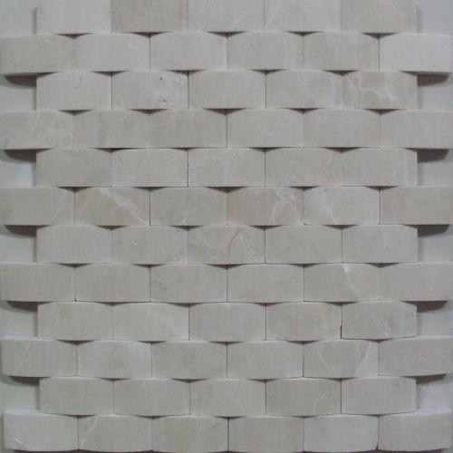White Marble Flooring Carrara Marble Mosaic