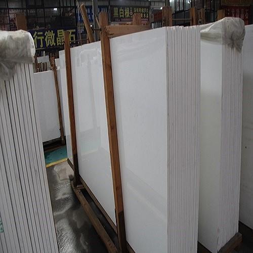 Pure White Quartz Stone Stair/Riser/Skirt/Step