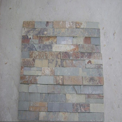 Multicolor Slate Stone for Wall Cladding/Flooring