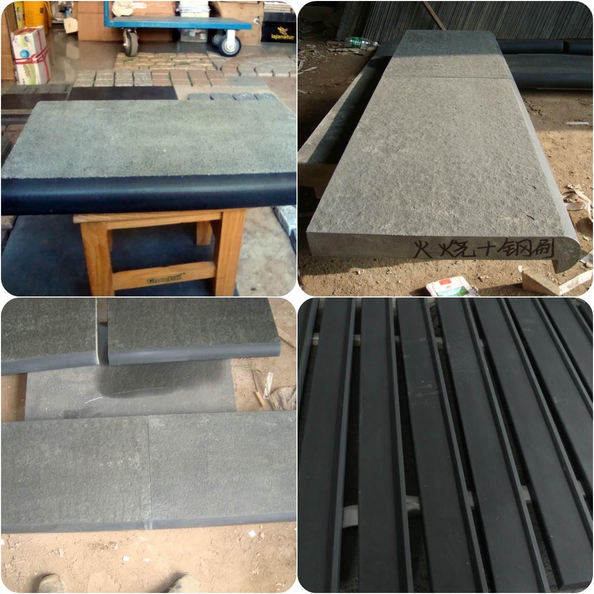 Basalt Pooling Tile Cope Stone Plate