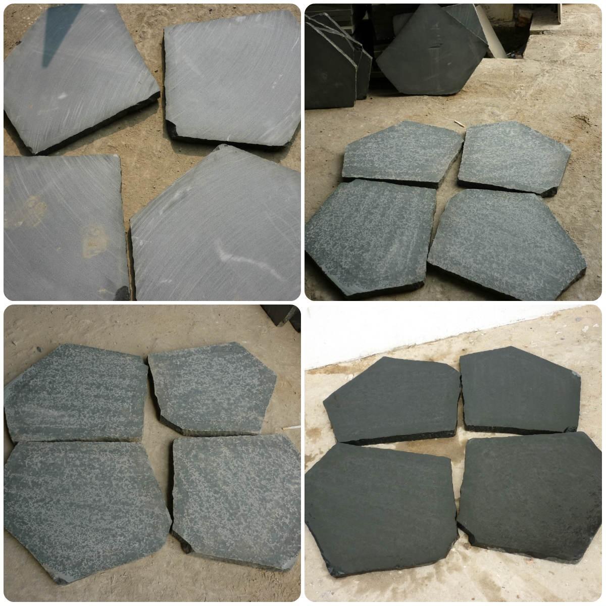 Irregular Basalt Plate Flagstone
