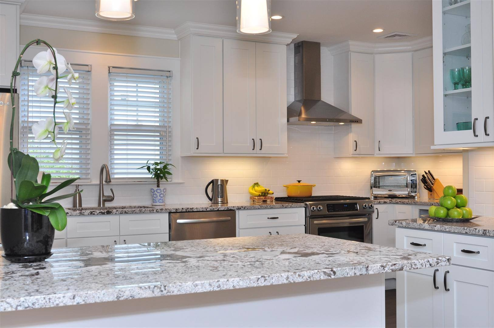 White Kitchen Granite Countertops Granite Prefab Bathroom Kitchen Stone Countertops