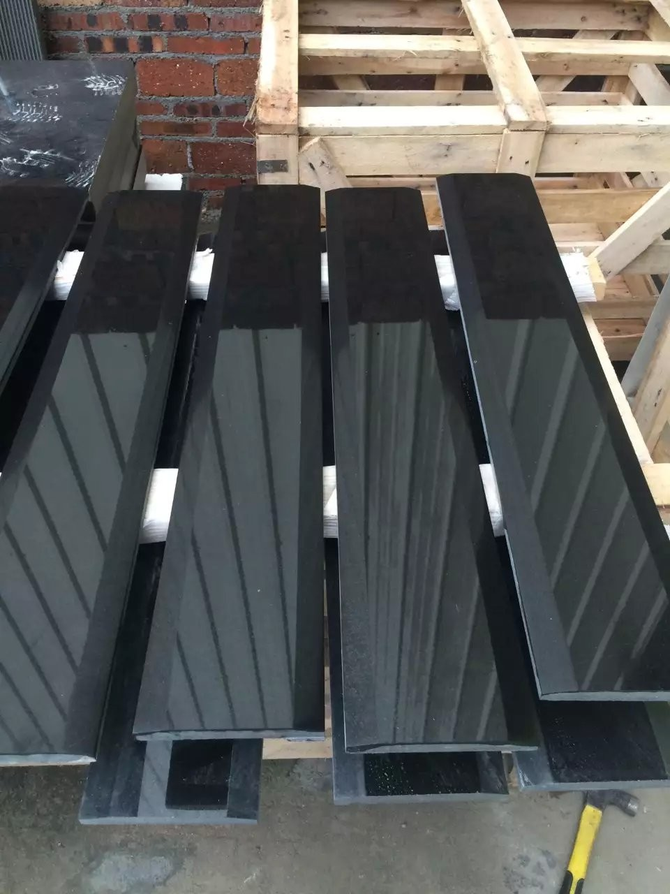 absolute black granite threshold stone