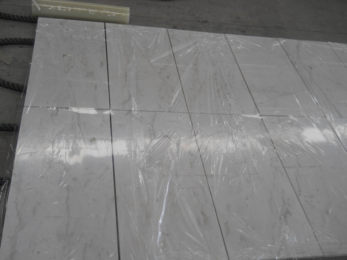 Marble Bathroom Tile bianco cararra marble bathroom tile