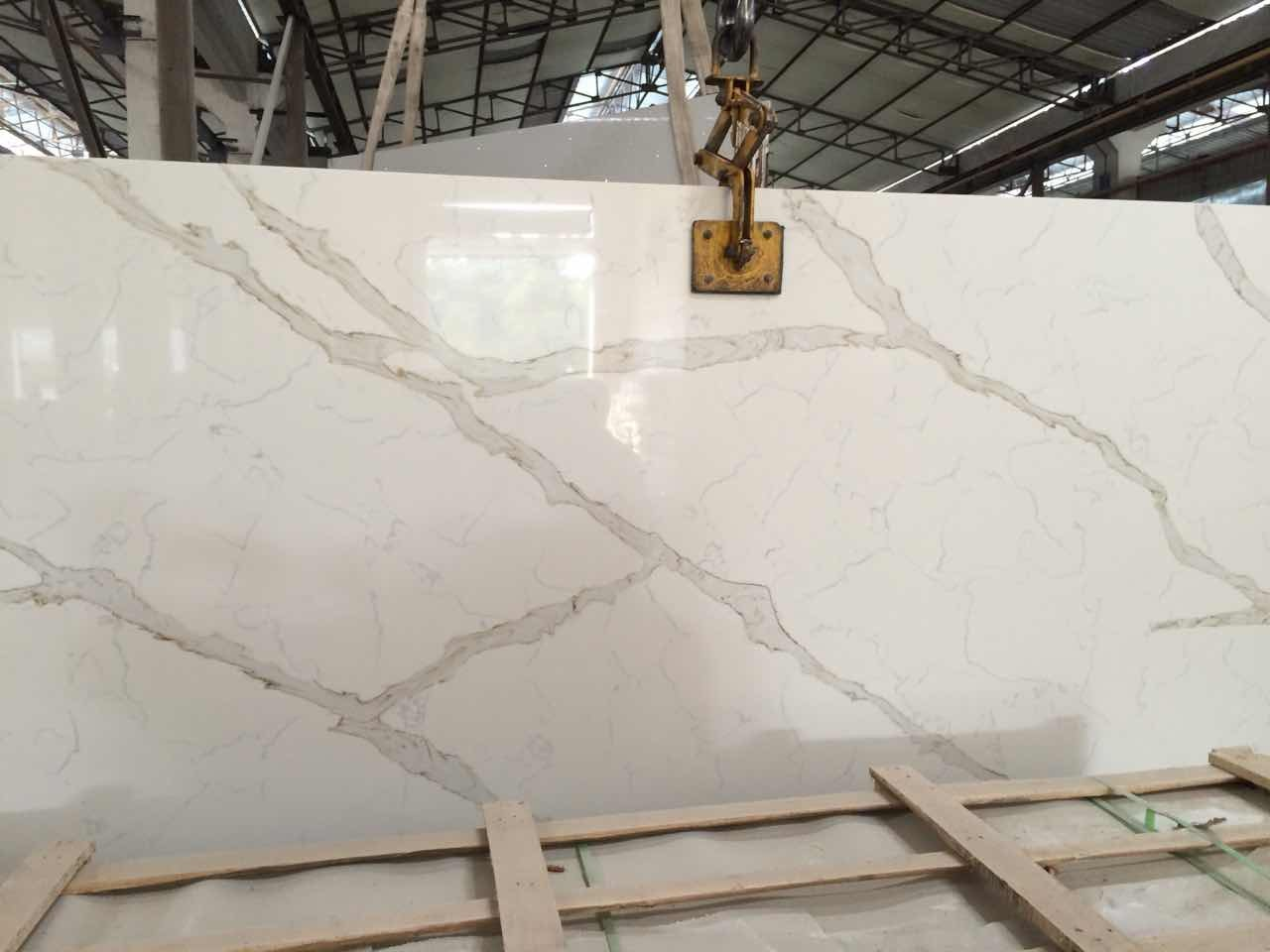 Quartz Floor Tiles for Kitchen/Bathroom/Commercial