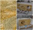 gold imperial granite countertops