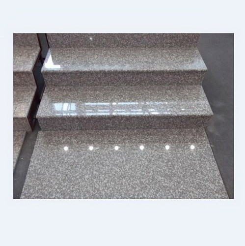 Flamed Grey G644 Granite tiles for steps