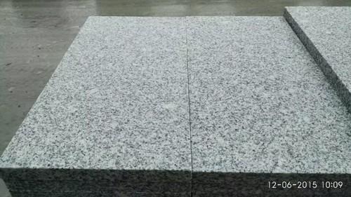 Flamed Grey Granite tiles for steps