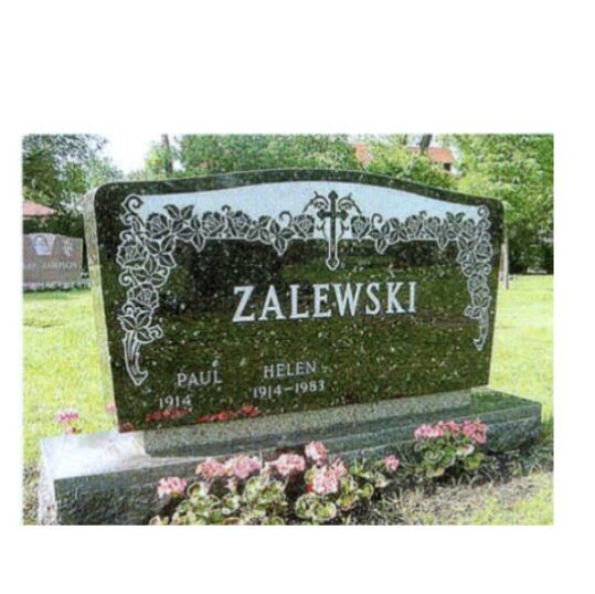 American Style Granite/Marble Tombstone