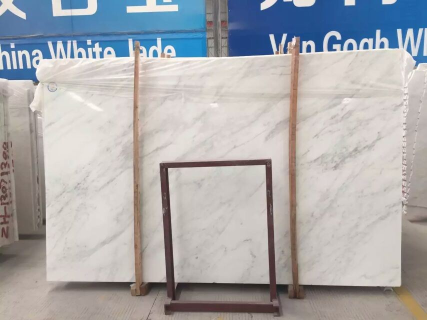 Cheap Carrara/Pure White Marble for Indoor Floor