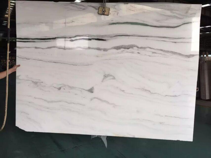 Prefab White Marble Stone Kitchen Benchtop