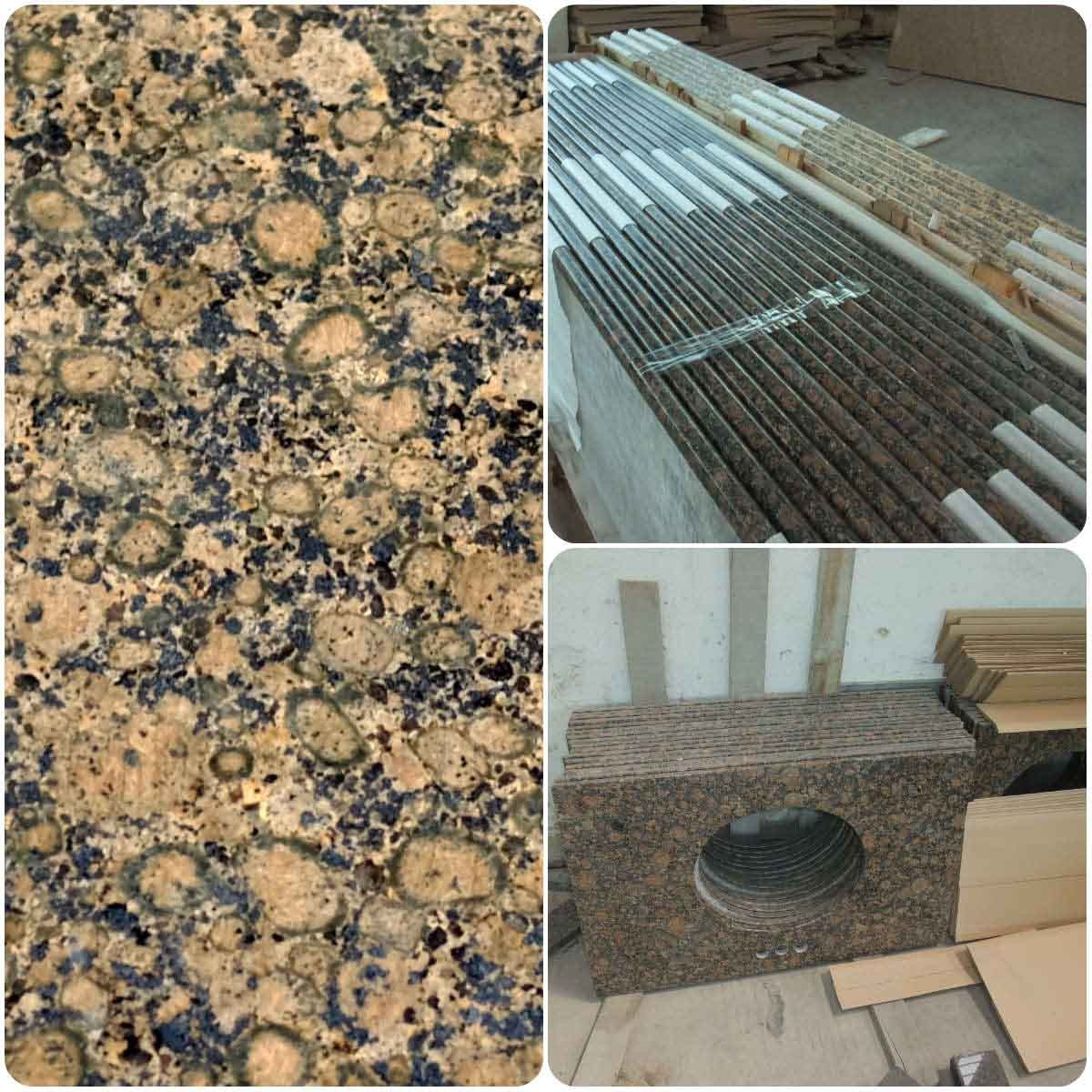 Good Quality Baltic Browngranite Vantiy Tops/ Coun