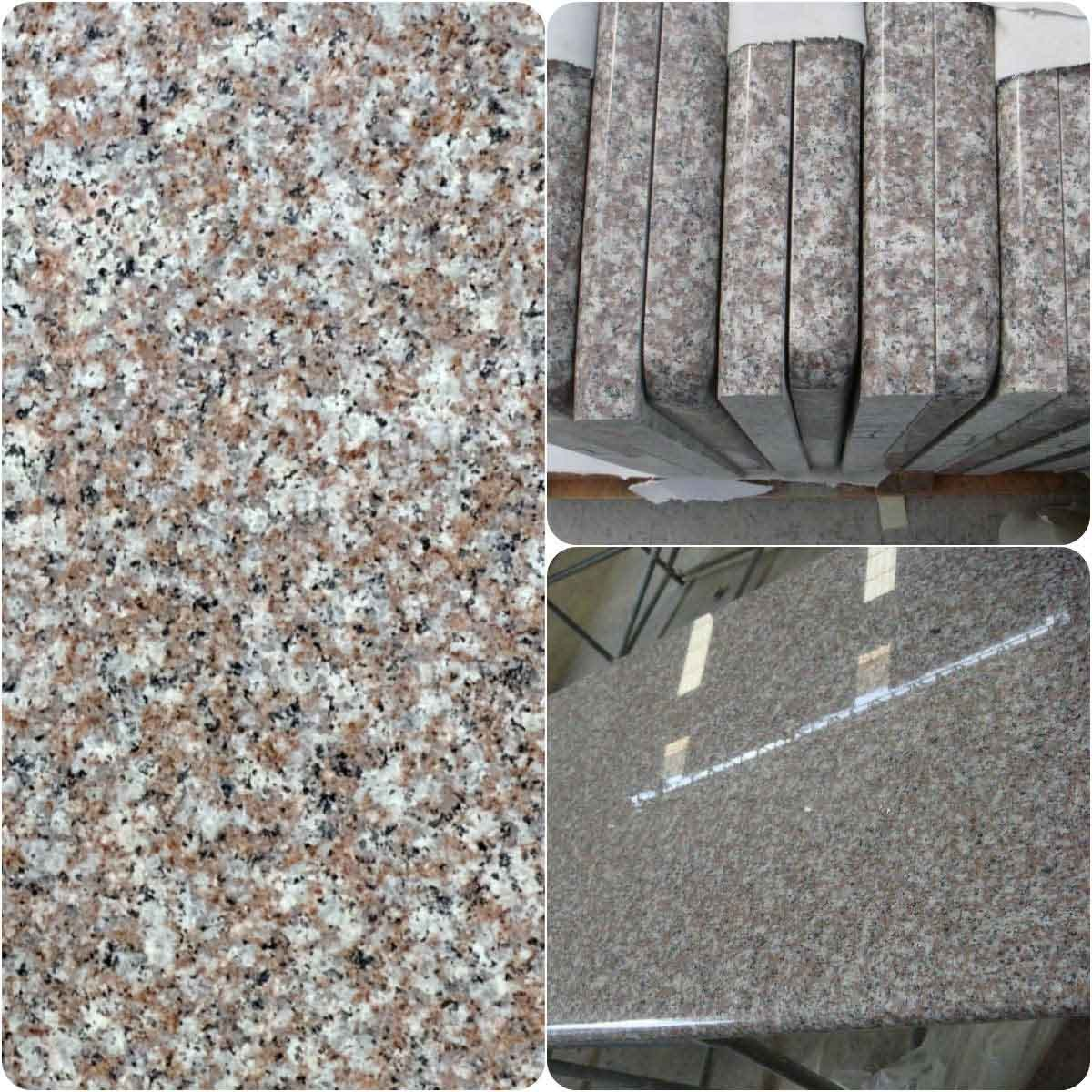 Pink /Gray Chinese Granite G664 Majestic Brown Van